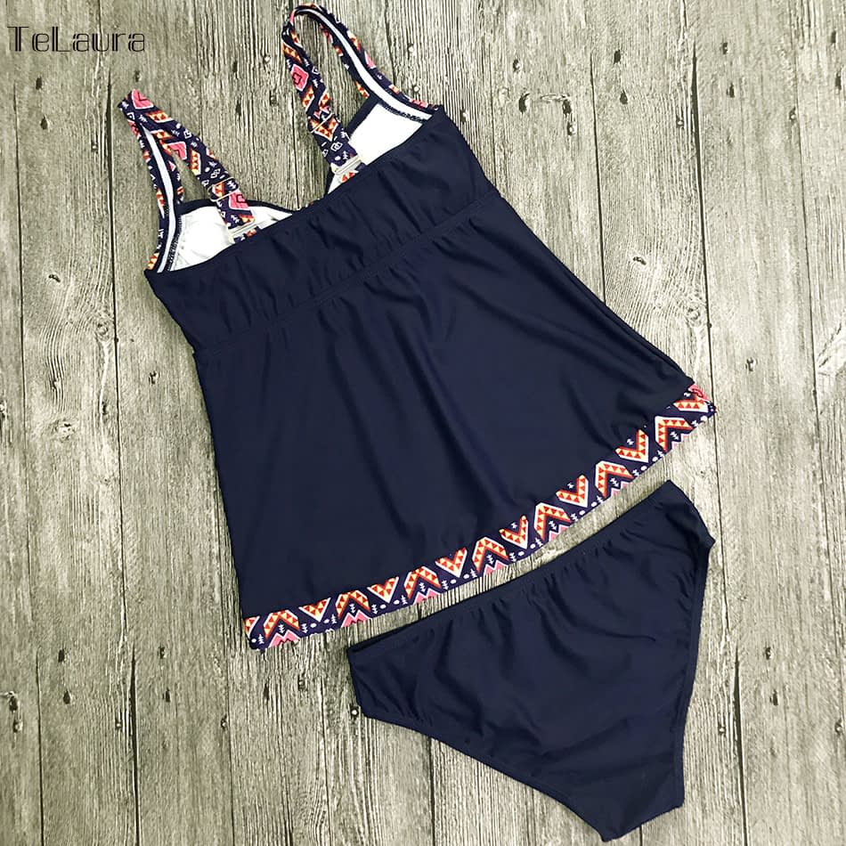 Women's Swimwear, Two Piece Vintage Bathing Suit, Print Biquini Retro Swimwear 13