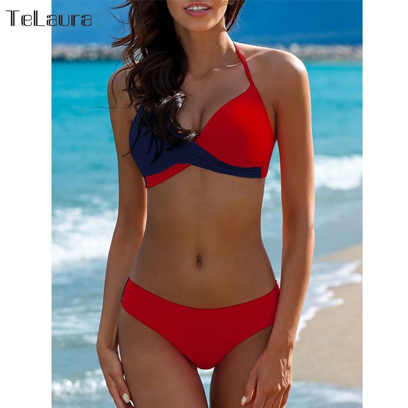 Sexy Bikini Swimwear, Women's Bathing Suit Biquini Brazilian Bikini Set 6