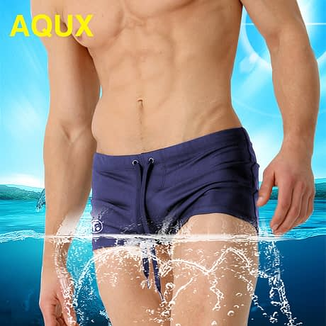 Male Swim Briefs, Low Rise, Men's Nylon Swimwear, Men's Swimming 1