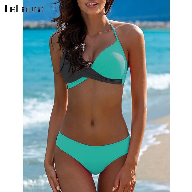 Sexy Bikini Swimwear, Women's Bathing Suit Biquini Brazilian Bikini Set 8