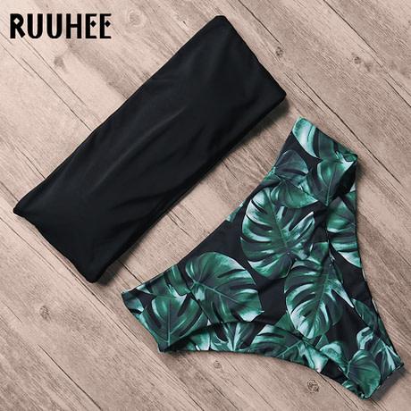 Bandage Bikini, Women's Swimsuit, High Waist, Bikini Set, 2019 Bathing Suit, Push Up Maillot De Bain Femme Beachwear 1