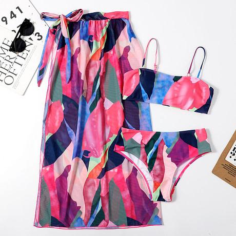 2021-New-3Pcs-WOmen-Bikini-Set-With-Beach-Dress-Abstract-Printed-Patchwork-Biquini-Swimwear-Push-Up-5.jpg