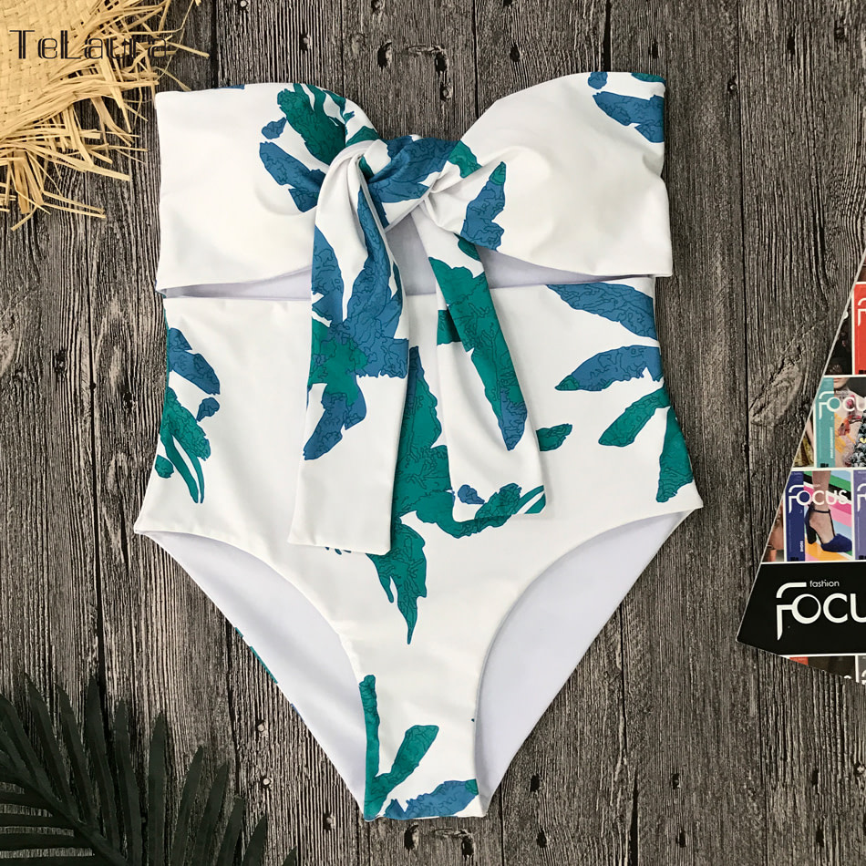 Sexy High Waist Bikini, Women's Swimsuit Bandeau Bikinis Set, Biquini Beachwear 12