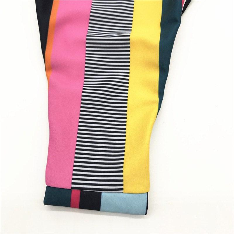 Bandeau Bikini, 2019 Striped, Strapless, Push Up Swimwear, Women's Tie Side Bathing Suit 27