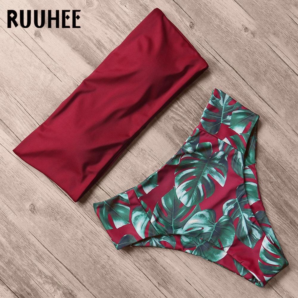 Bandage Bikini, Women's Swimsuit, High Waist, Bikini Set, 2019 Bathing Suit, Push Up Maillot De Bain Femme Beachwear 18