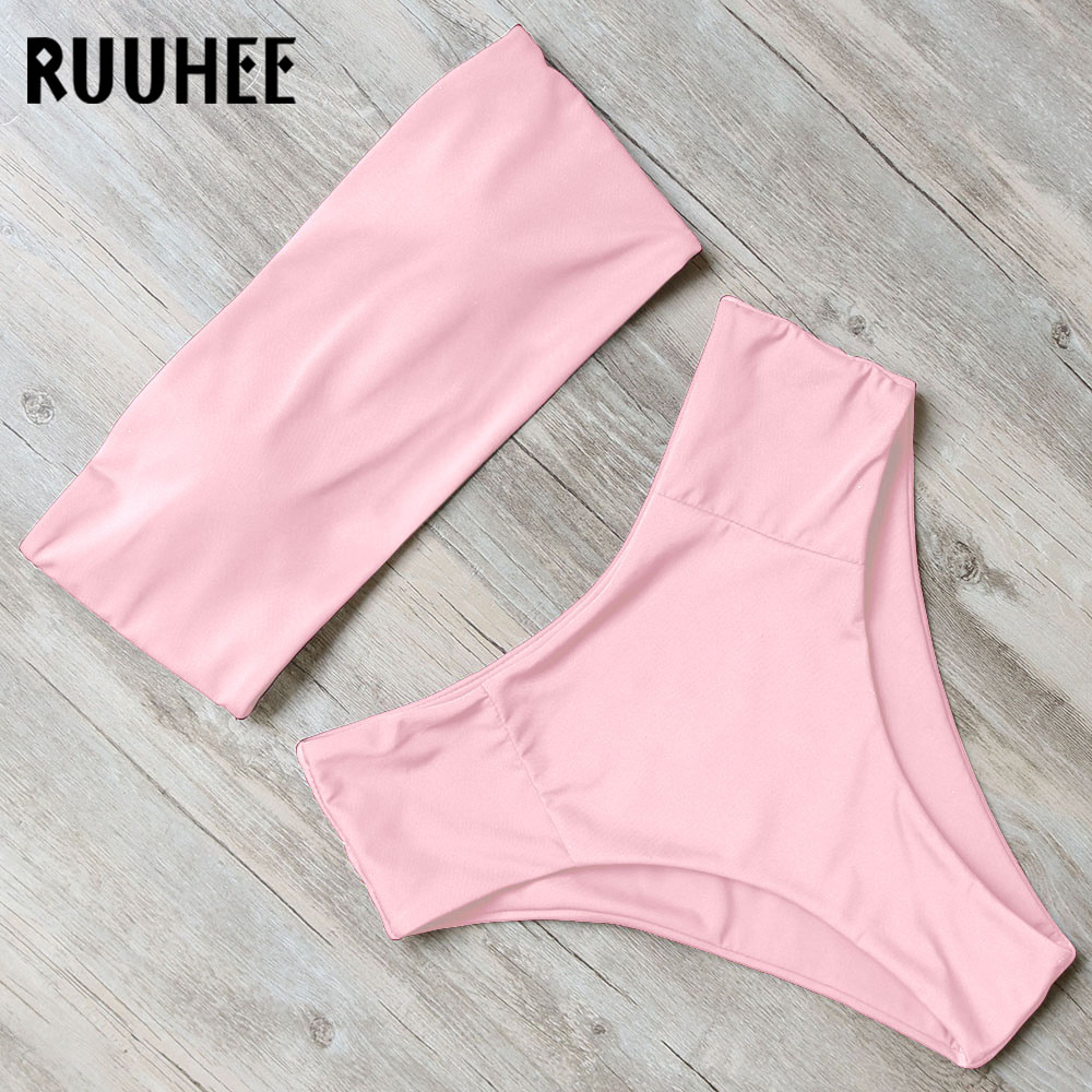 Bandage Bikini, Women's Swimsuit, High Waist, Bikini Set, 2019 Bathing Suit, Push Up Maillot De Bain Femme Beachwear 27