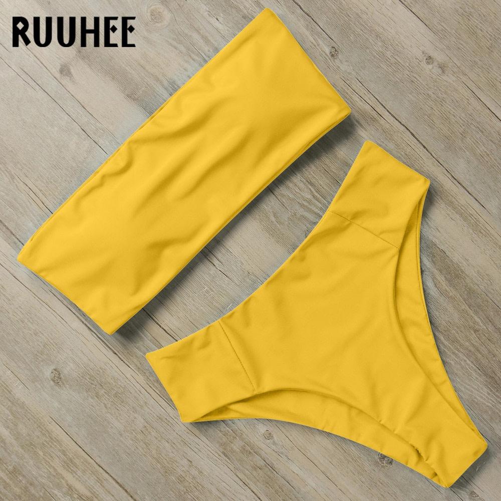 Bandage Bikini, Women's Swimsuit, High Waist, Bikini Set, 2019 Bathing Suit, Push Up Maillot De Bain Femme Beachwear 25