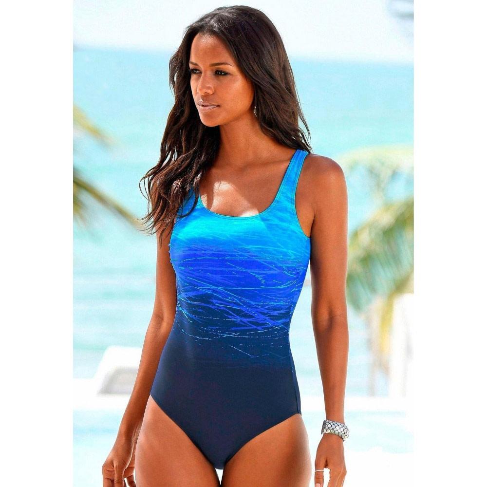 One Piece Swimsuit, Women's Bandage Vintage Beach Wear, Solid Bathing Suit, Monokini Retro Swimsuit 12