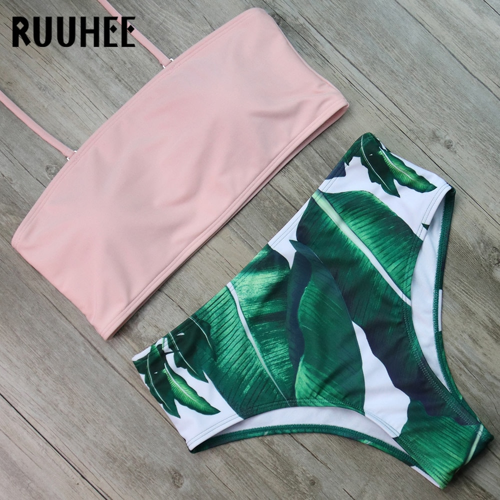 Bandage Bikini, Women's Swimsuit, High Waist, Bikini Set, 2019 Bathing Suit, Push Up Maillot De Bain Femme Beachwear 49