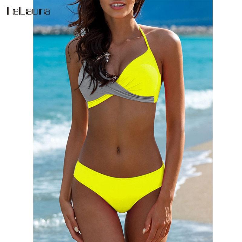 Sexy Bikini Swimwear, Women's Bathing Suit Biquini Brazilian Bikini Set 9