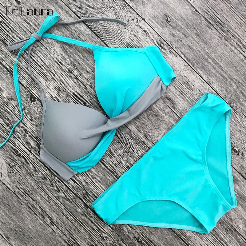 Sexy Bikini Swimwear, Women's Bathing Suit Biquini Brazilian Bikini Set 22