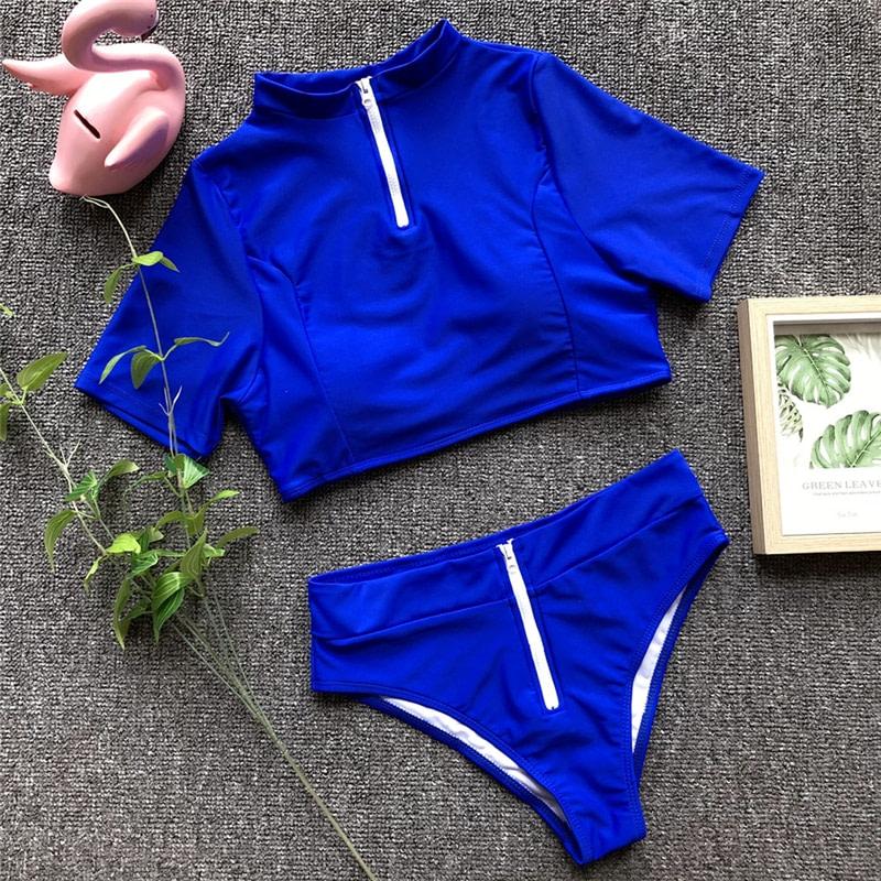 Women's Brazilian Thong Bikini, 2019 Women's T-Shirt Swimsuit, Push up, Two-Piece Suit 49