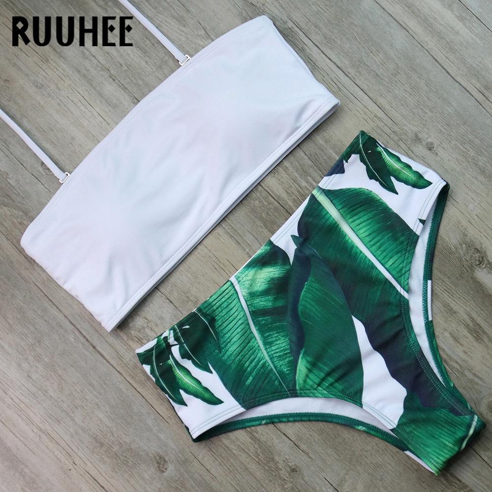 Bandage Bikini, Women's Swimsuit, High Waist, Bikini Set, 2019 Bathing Suit, Push Up Maillot De Bain Femme Beachwear 48