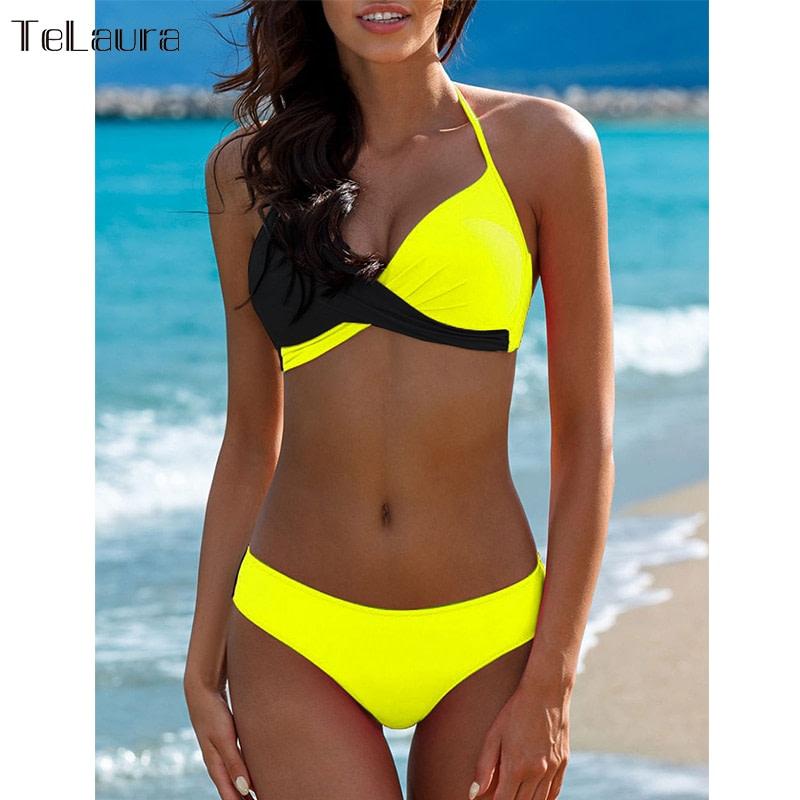 Sexy Bikini Swimwear, Women's Bathing Suit Biquini Brazilian Bikini Set 7