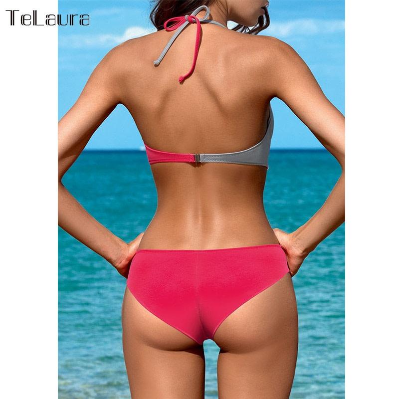 Sexy Bikini Swimwear, Women's Bathing Suit Biquini Brazilian Bikini Set 4