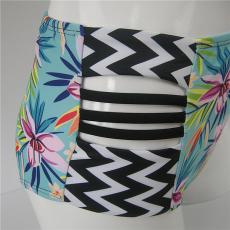 Floral Bikini Set Side