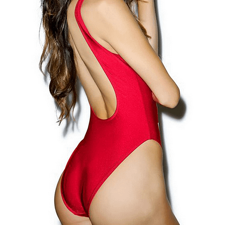 One Piece Bodysuit Back