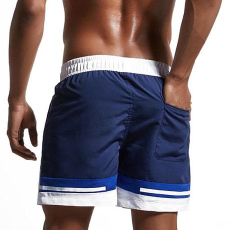 Summer Beach Shorts Back