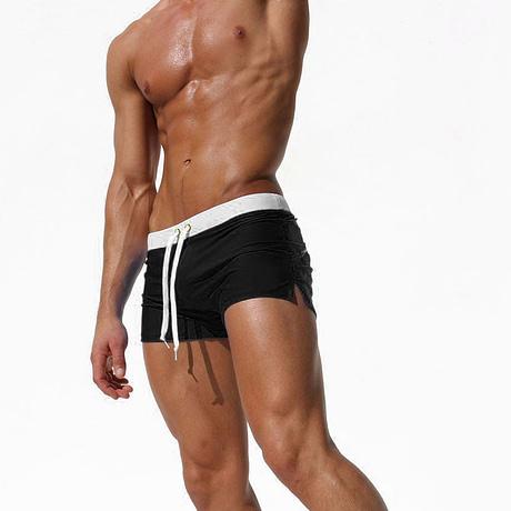 Men's Swimwear, Boxer Shorts Swim Trunks, Swimming Surf 4