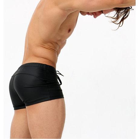 Male Swim Briefs, Low Rise, Men's Nylon Swimwear, Men's Swimming 3