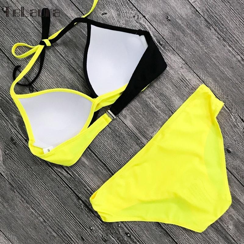 Sexy Bikini Swimwear, Women's Bathing Suit Biquini Brazilian Bikini Set 17