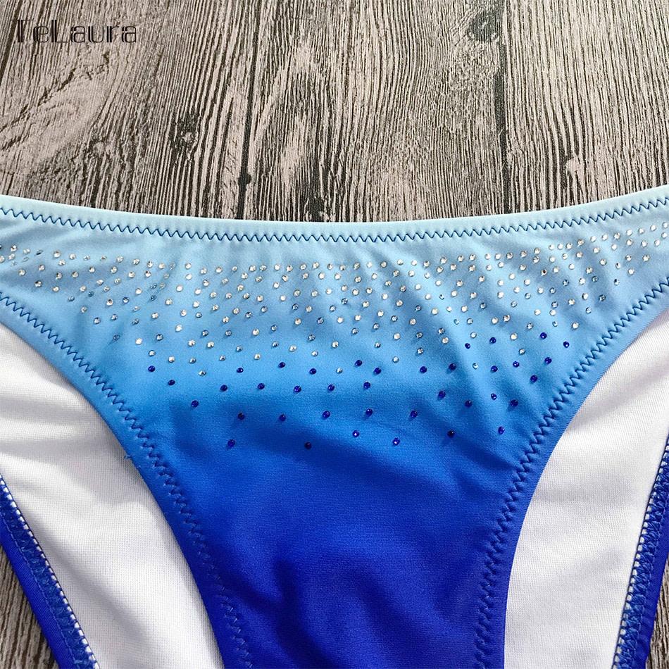 2019 Sexy Bikini Swimwear, Women's Swimsuit Push Up, Gradient Bikinis, Biquini Swimsuit 14