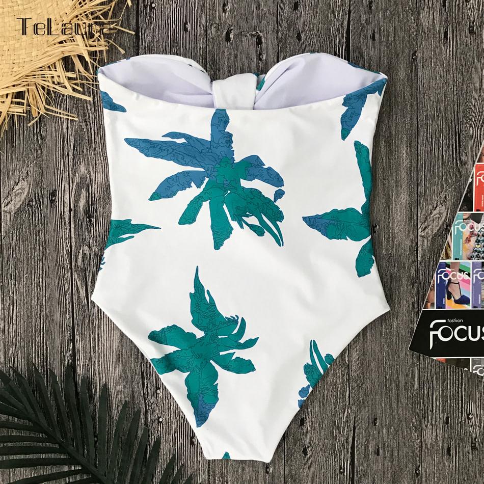 Sexy High Waist Bikini, Women's Swimsuit Bandeau Bikinis Set, Biquini Beachwear 13