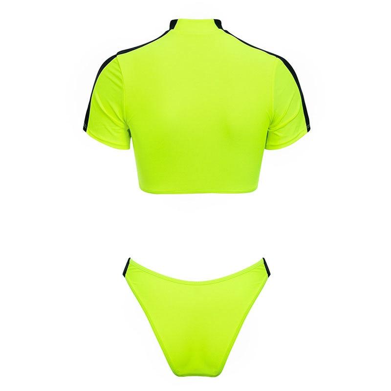 Women's Brazilian Thong Bikini, 2019 Women's T-Shirt Swimsuit, Push up, Two-Piece Suit 41