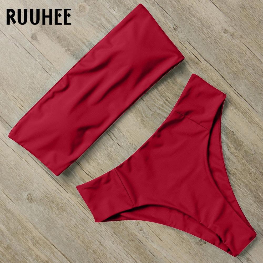 Bandage Bikini, Women's Swimsuit, High Waist, Bikini Set, 2019 Bathing Suit, Push Up Maillot De Bain Femme Beachwear 26