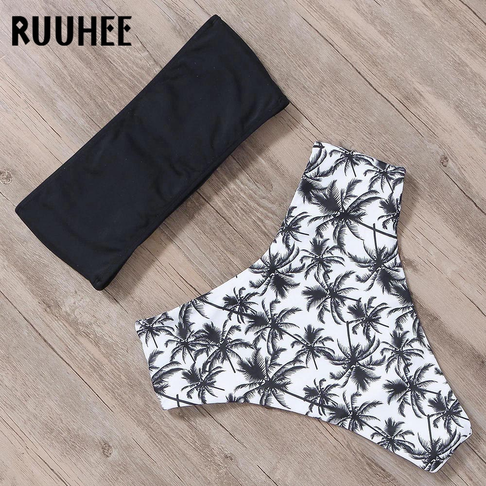 Bandage Bikini, Women's Swimsuit, High Waist, Bikini Set, 2019 Bathing Suit, Push Up Maillot De Bain Femme Beachwear 14