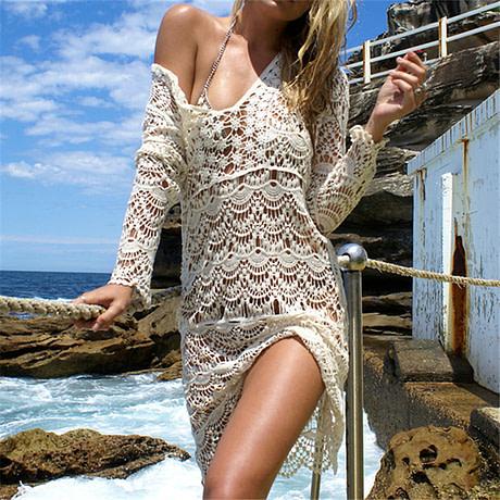 Crochet Beach Cover Up
