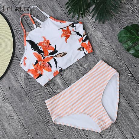 Sexy High Neck Bikini, Women's Swimwear, Push Up Swimsuit, Brazilian Bikinis, Women Bathing Suit 5