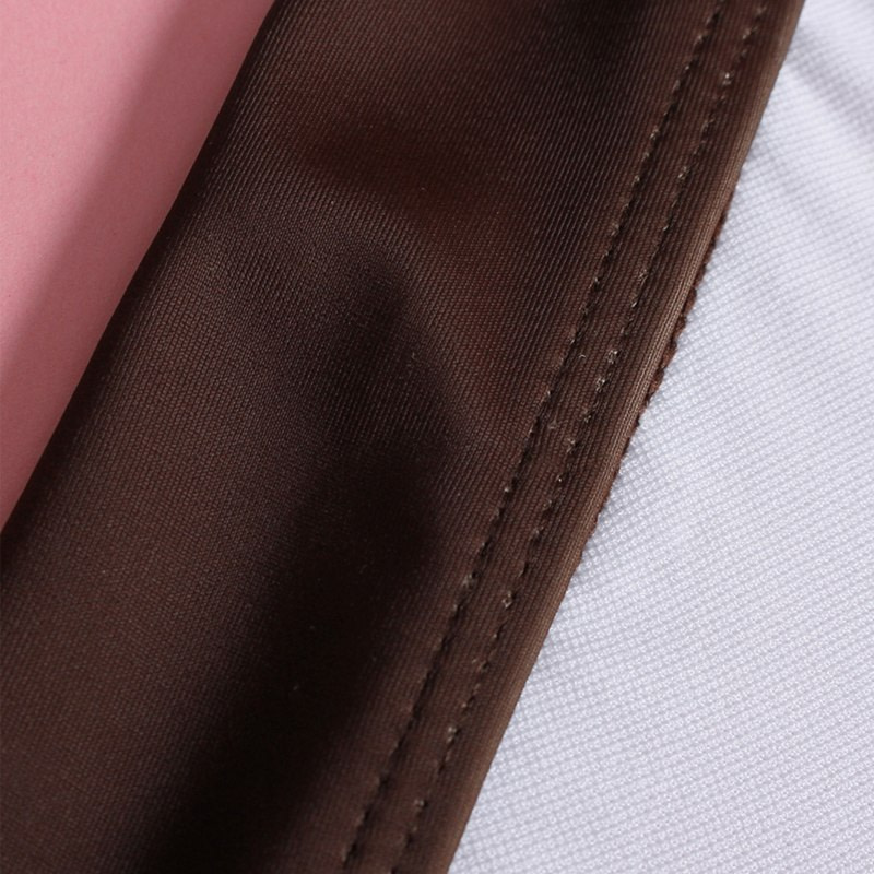 2019 High Neck 2 Piece Crop Top, Women's Striped Bathing Suit 32