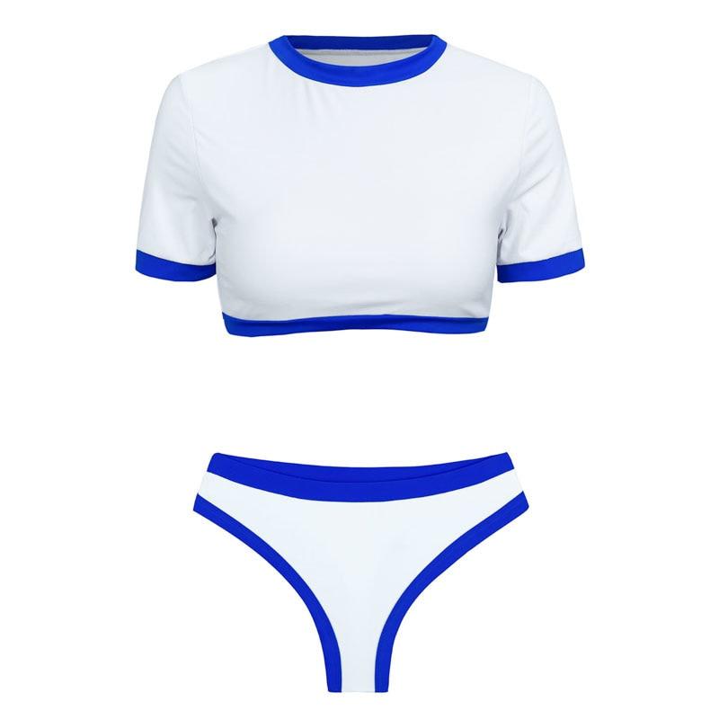 Women's Brazilian Thong Bikini, 2019 Women's T-Shirt Swimsuit, Push up, Two-Piece Suit 28